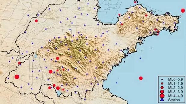 天然地震58次 非天然地震40次 来看看9月山东地震月报!
