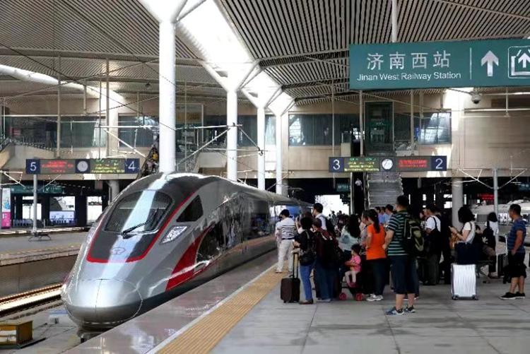 新的列车运行图出炉啦!增开13.5对高峰线列车 济青最快1小时25分