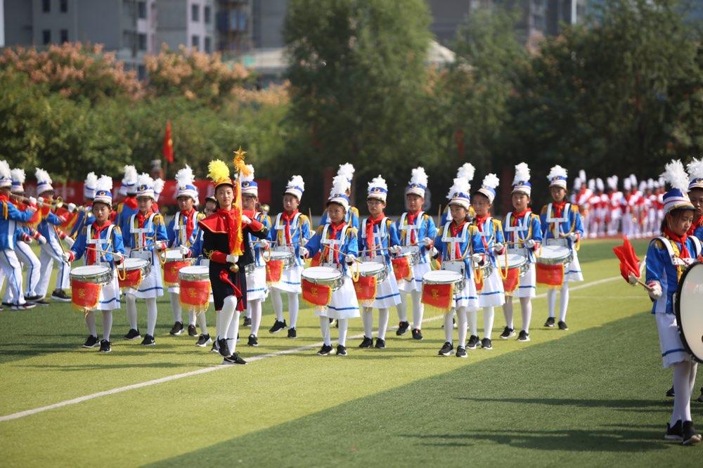 山东省纪念少先队建队70周年鼓号操大赛淄博赛区圆满落幕