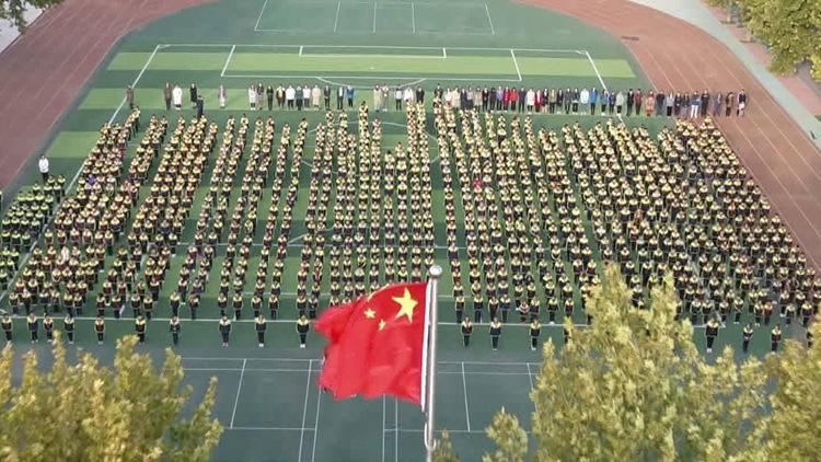 44秒丨潍坊青州举行庆祝少先队建队70周年主题活动