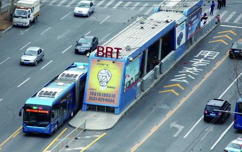 历山路BRT车道施工,BRT2、3号线临时调出BRT车道运行