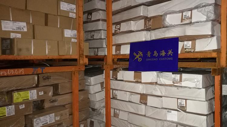 冻鸡爪、冻猪蹄……青岛海关查获涉嫌走私冻品560余吨