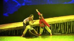 43秒|大型民族舞剧《乳娘》聊城上演!红色故事讲述人间大爱