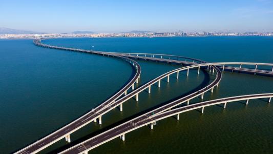 最高降20元!青岛胶州湾大桥车辆通行费将调整