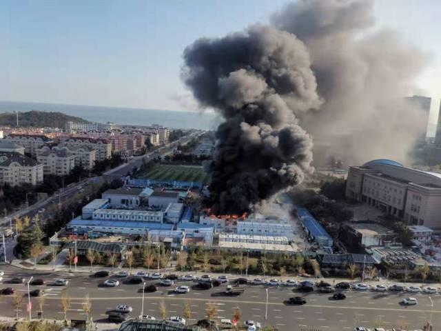 青岛国信金融中心一月两次火情幸无伤亡!着火原因尚未公布