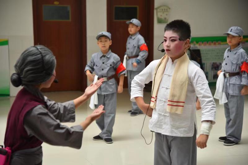 10月24日 这部大型红色原创少儿史诗剧将在潍坊上演