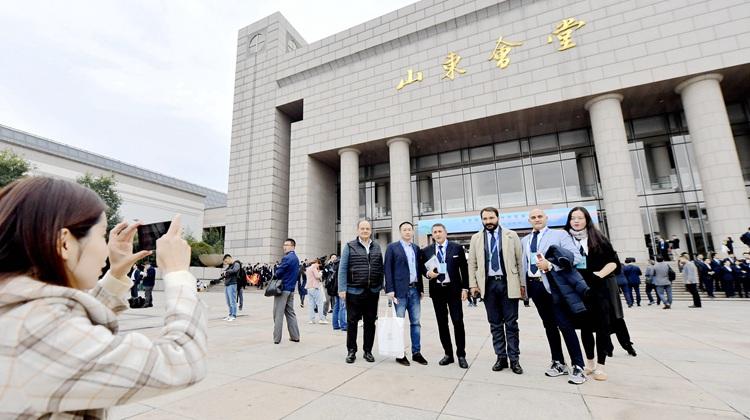 組圖:迎四海賓朋來 山東進入國際友城合作發展大會時間