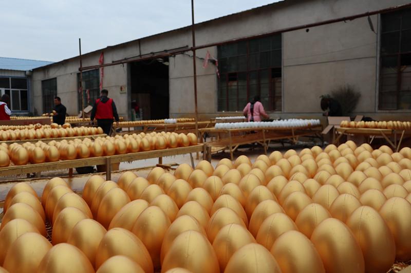 革命老区行   一年卖出1.5亿枚 全国80%的金蛋都来自临沂这个地方