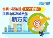 """政能量丨省委書記連提""""16個合作"""",指明山東友城合作新方向"""