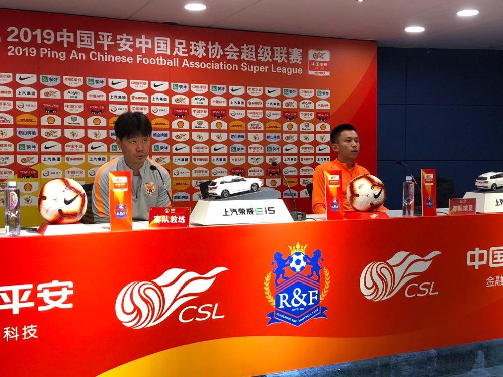 客战富力王大雷确定缺席 鲁能25名球员参加赛前踩场训练