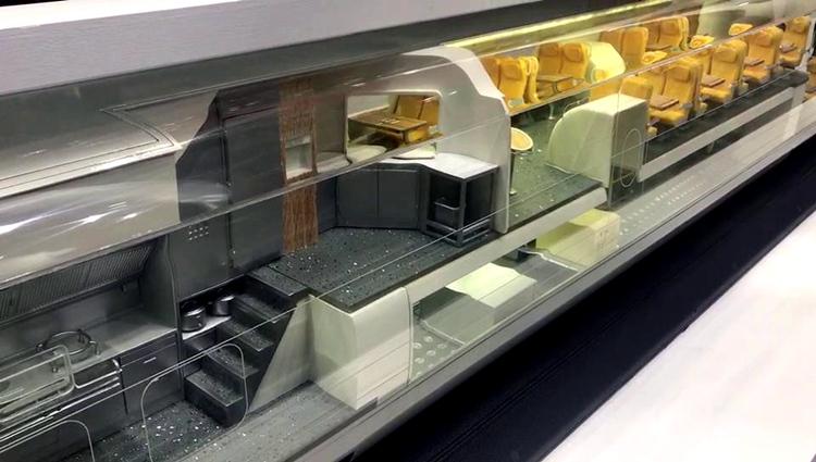 2019世界工业设计大会|可自由组合的餐车、座位、卧铺车厢你见过吗?