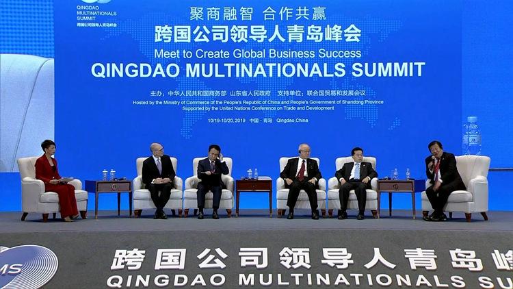 跨国公司领导人青岛峰会丨山东重工集团谭旭光:走出去,提升核心竞争力