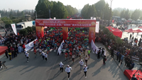 2019菏泽东明黄河生态马拉松赛开跑