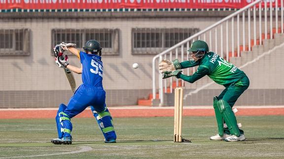 板球为媒结出友谊硕果 三国青年板球友谊赛在济南举行