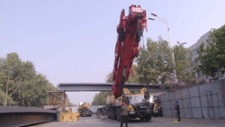 29秒|聊城城区过街天桥有新进展,外国语过街天桥预计10月底使用