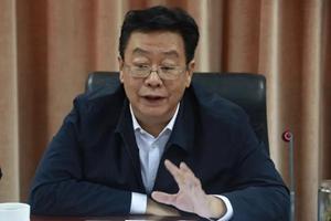 山东省委宣传部副部长李昌文一行到山东传媒职业学院就主题教育等进行专题调研