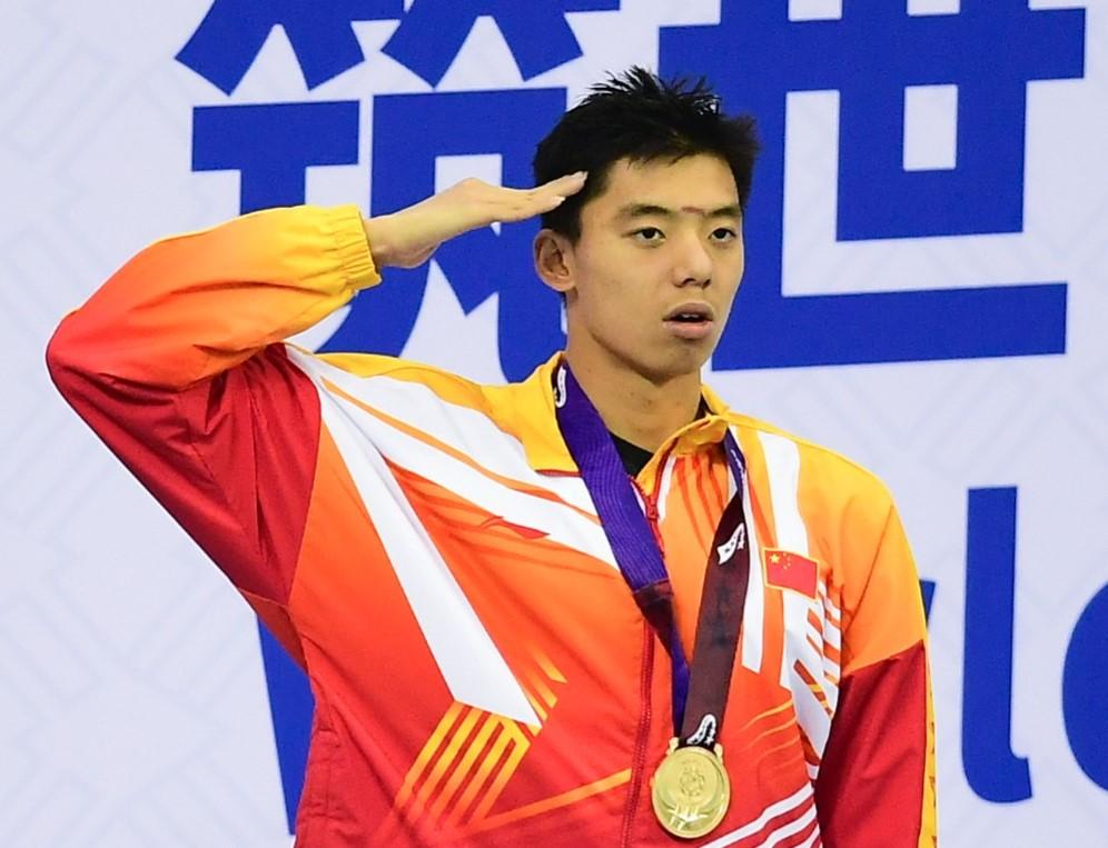 军运会山东泳将再发威 季新杰第5金杨浚瑄第6冠