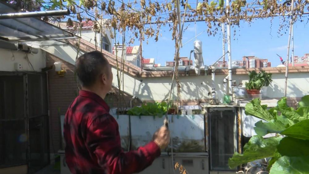 67秒|淄博六旬老人发明新家电 家中无人也可手机操控浇花