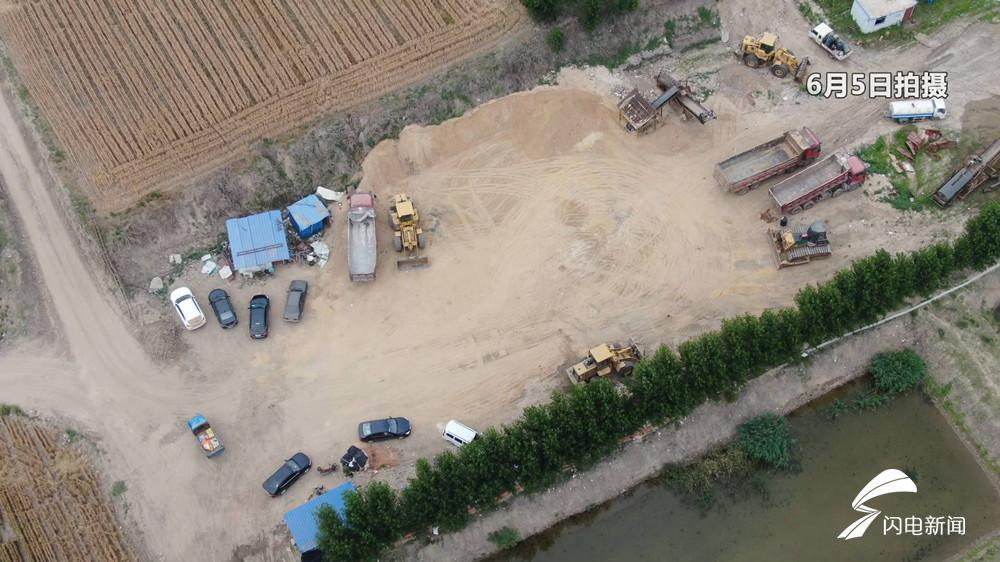 济宁县界非法采砂点无法监管?问政曝光后已清理复垦完并交付耕种