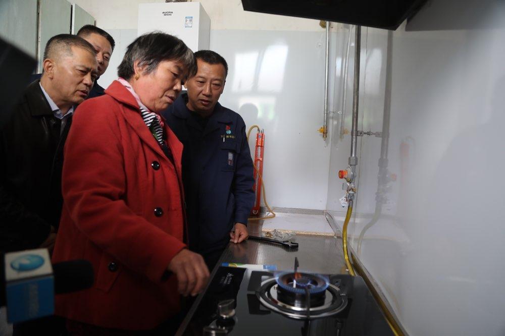 """尽享""""天蓝冬暖""""济南东部4万余户村民今冬将用上燃气清洁取暖"""