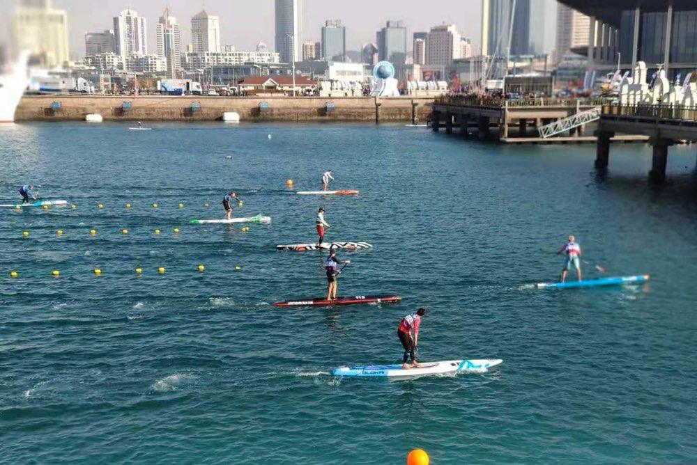 2019东帆会杯世界桨板锦标赛青岛落幕