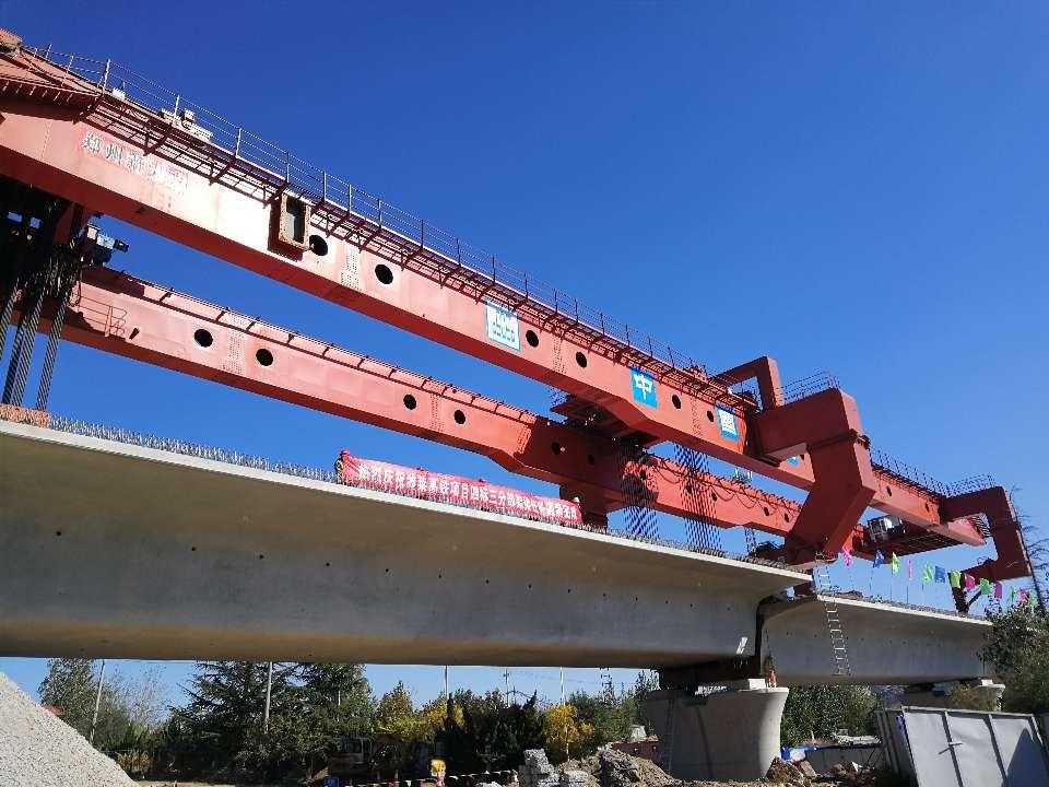 潍莱高铁平度北站至莱西北站段架梁完工 预计2020年年底通车