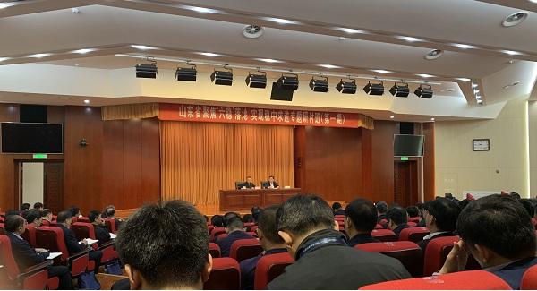 """山东省交通运输厅厅长江成:建立123通行圈 深入实施""""交通强国""""试点"""