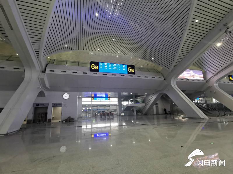 65秒|鲁南高铁日曲段车站建设收尾 1000多万老区群众将家门口乘复兴号
