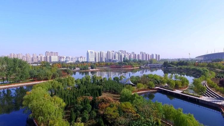 醉美秋色|最是一年好风景 来邹城唐王河公园吸氧吧