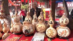 46秒|开眼界!走进聊城葫芦节,记者带您见识造型各异的精品葫芦