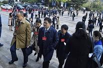 组图|山东进入中国企业改革发展论坛时间 嘉宾陆续进入会场