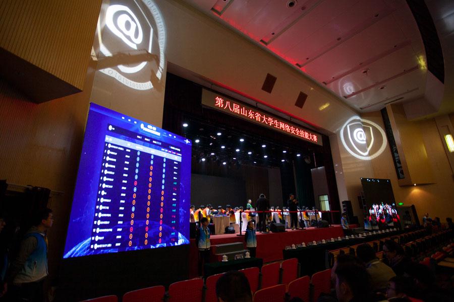 第八届山东省大学生网络安全技能大赛落幕 山东科技大学蝉联冠军