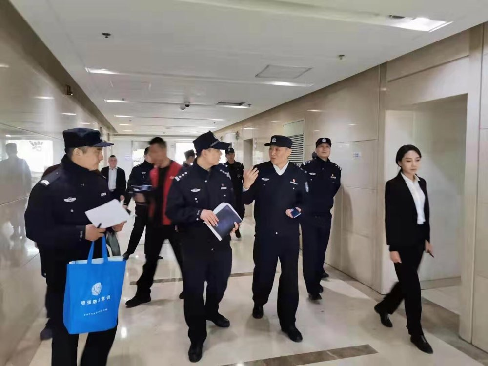 济南市中公安进行治安清查:这些写字楼里有非法集资公司