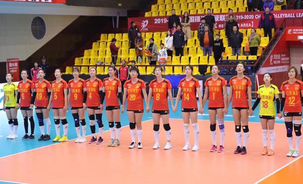 中国女排超级联赛:山东体彩女排开局两连胜