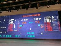 WCBA季前赛山东力克天津 全队五人得分上双