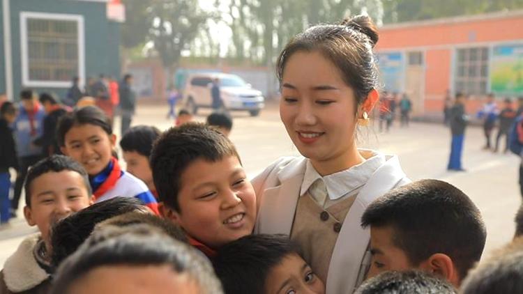 鲁疆情未了丨山东援疆支教大学生张力文:在疆支教的日子,是人生最鲜活的时光