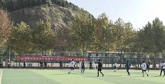 山东省业余足球联赛多点开花 两场赛事吸引1200人参赛