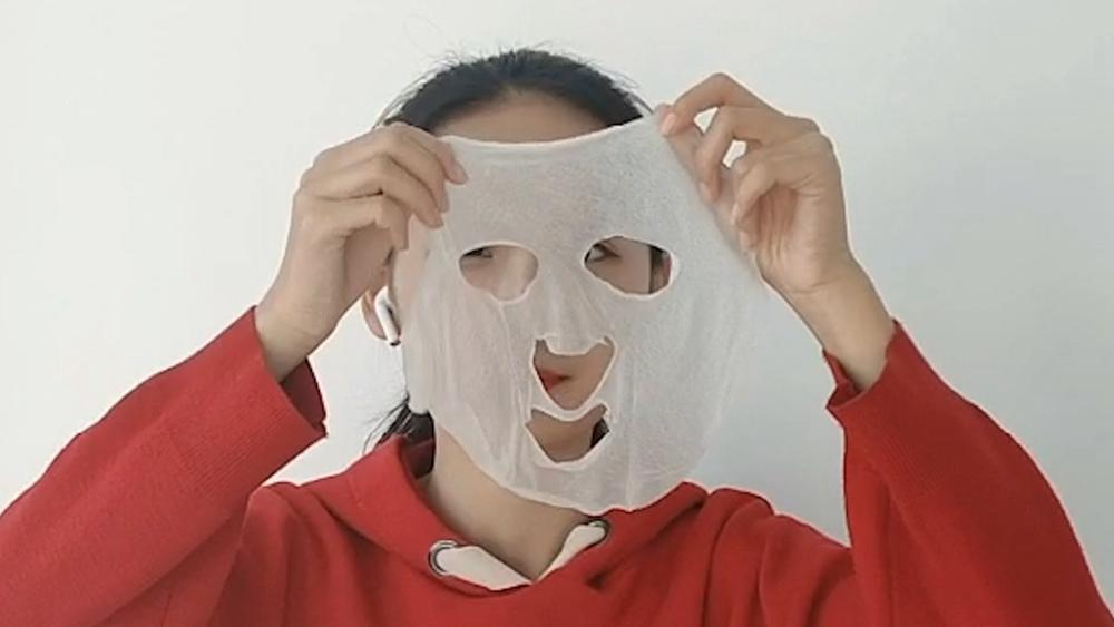 新鲜!济南鲍芹面膜研制成功 记者体验:清香透凉不刺激