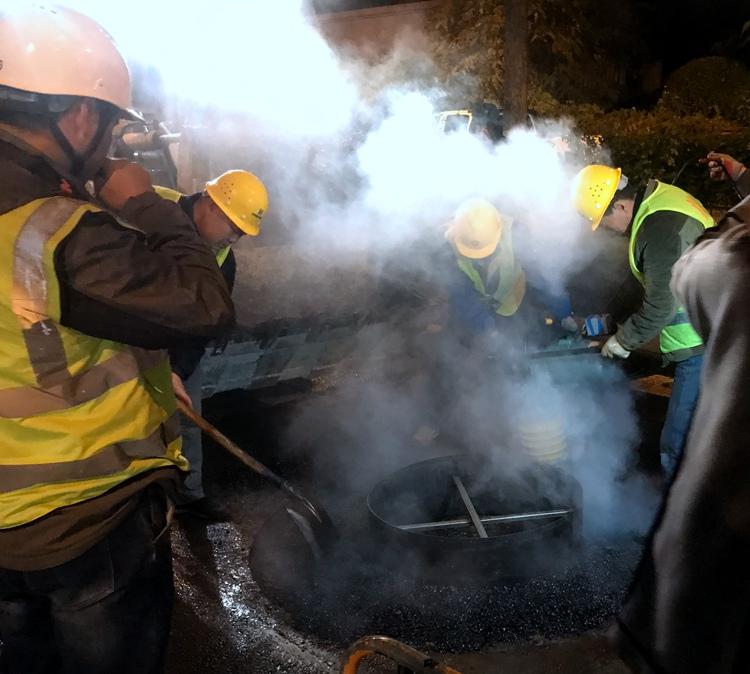 100个不眠之夜换来2万井盖不咯噔 今年济南井盖改造工作进入尾声