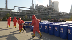37秒丨济南海关出口危险化学品突发事件应急演练在聊城举办