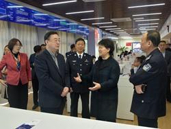 枣庄市领导到聊城市调研考察公安融媒体建设工作