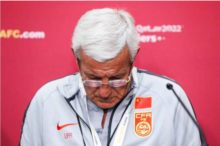 国足1-2负叙利亚 赛后主帅里皮宣布辞职