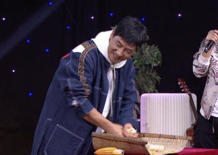 《花漾剧客厅》郭晓东现场搓玉米学吆喝,家乡味十足