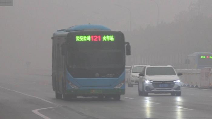 """受雾天影响 东营境内""""两客一危""""车辆禁止高速通行"""