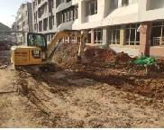 出场车辆一车一洗、不带泥上路 济南加强建筑工地文明施工管理