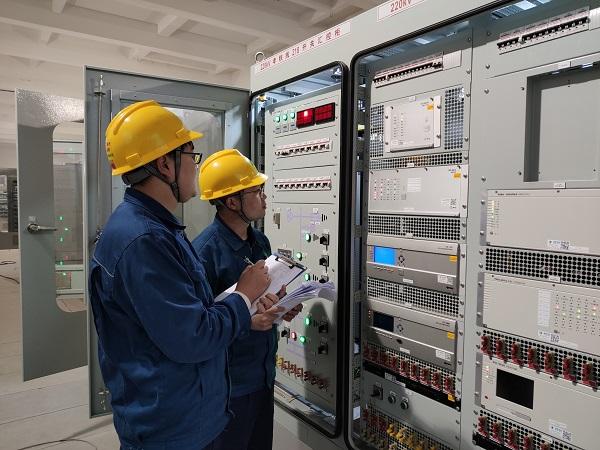 为通车打下基础!鲁南高铁临沂境内牵引站正式实现双电源供电