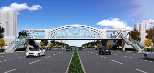 滨州将新增四座过街天桥,效果图、具体位置看这里