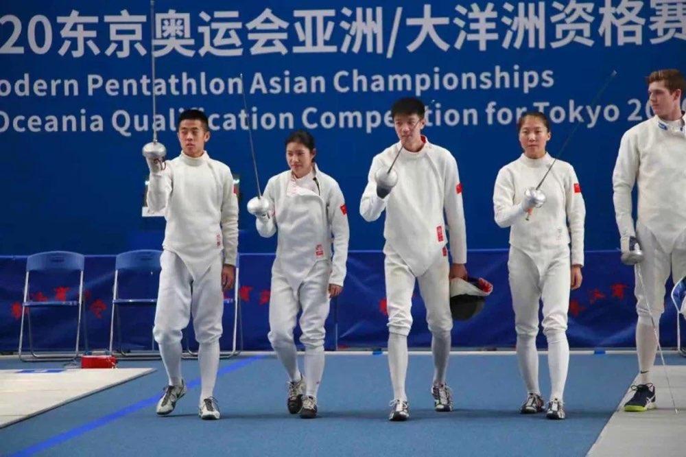 现代五项亚锦赛完美收官 中国小将勇夺青年组混合接力金牌