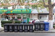 """威海400余个""""橙桶""""变身""""灰桶"""" 有效提高垃圾分类投放准确率"""