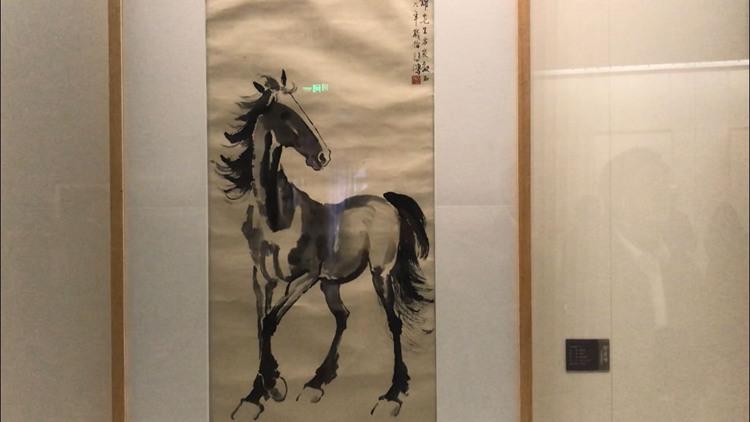 """免费开放!""""徐悲鸿与他的时代""""美术大展在济南开幕 闪电记者带你""""尝鲜"""""""
